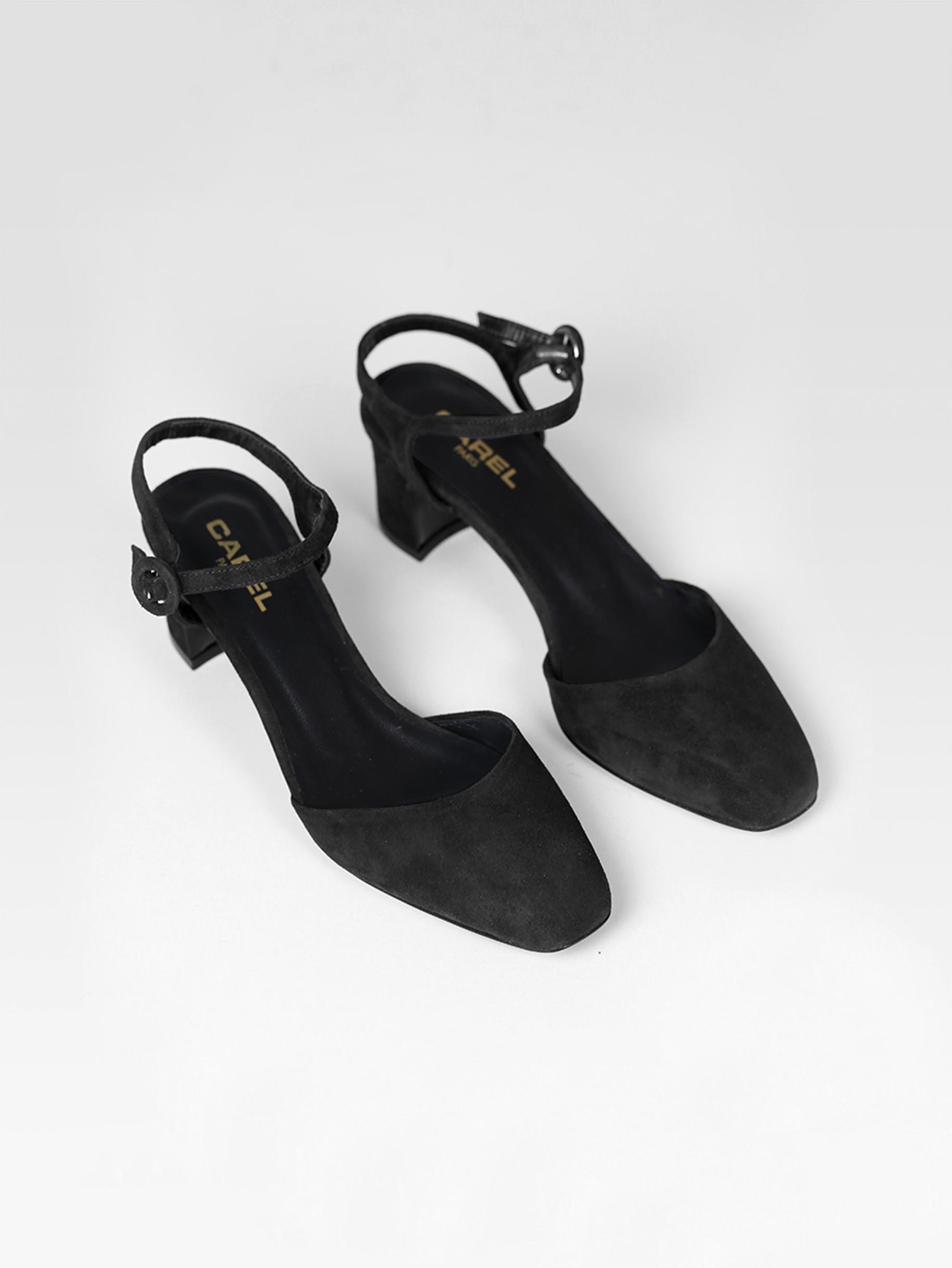 Sandales noir cuir velours cuir noir velours velours Sandales cuir Sandales lKc5uF3J1T